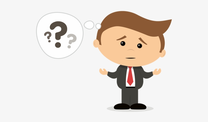 Confused man clipart freeuse download Download Free png Confused Person Png Animated Confused Man Clipart ... freeuse download