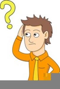 Confused man clipart clip art Confused Man Clipart | Free Images at Clker.com - vector clip art ... clip art