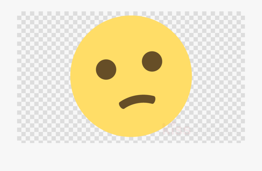 Facebook smileys clipart clip library download Confused Emoji Facebook Clipart Emoji Smiley Emoticon - Transparent ... clip library download