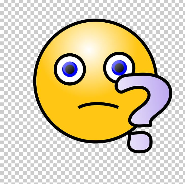 Confused smiley face clipart picture black and white library Smiley Emoticon Question Mark PNG, Clipart, Beak, Confused Smiley ... picture black and white library