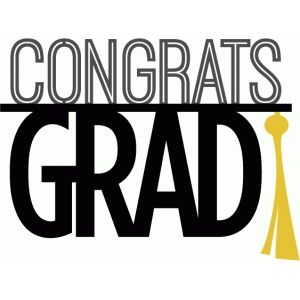 Congratsgrad clipart banner transparent download Congrats grad phrase | ScanNCut - celebrate! | Graduation clip art ... banner transparent download