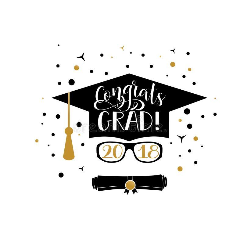 Congratsgrad clipart image black and white download Congratulations graduate clipart » Clipart Station image black and white download