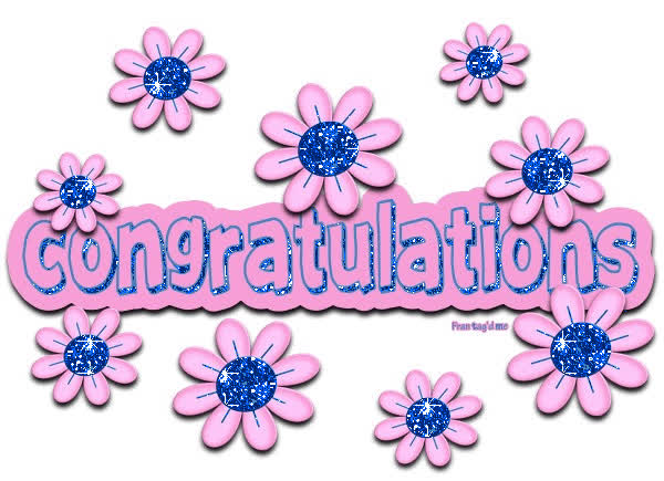 Congratulations images with flowers clipart vector freeuse library Congratulations Clipart vector freeuse library