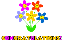 Congratulations images with flowers clipart vector royalty free library Free Congratulations Cliparts, Download Free Clip Art, Free Clip Art ... vector royalty free library