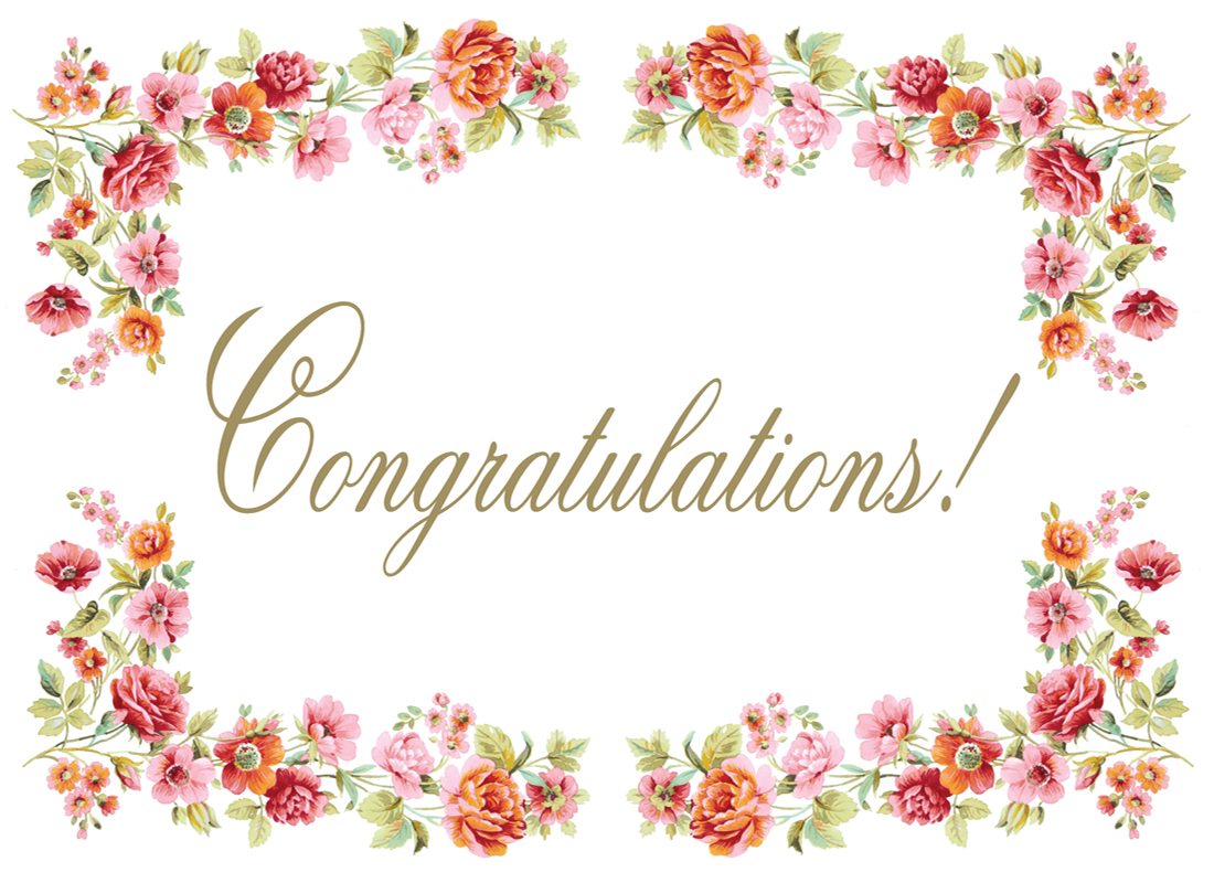 Congratulations images with flowers clipart graphic Free Congratulation, Download Free Clip Art, Free Clip Art on ... graphic