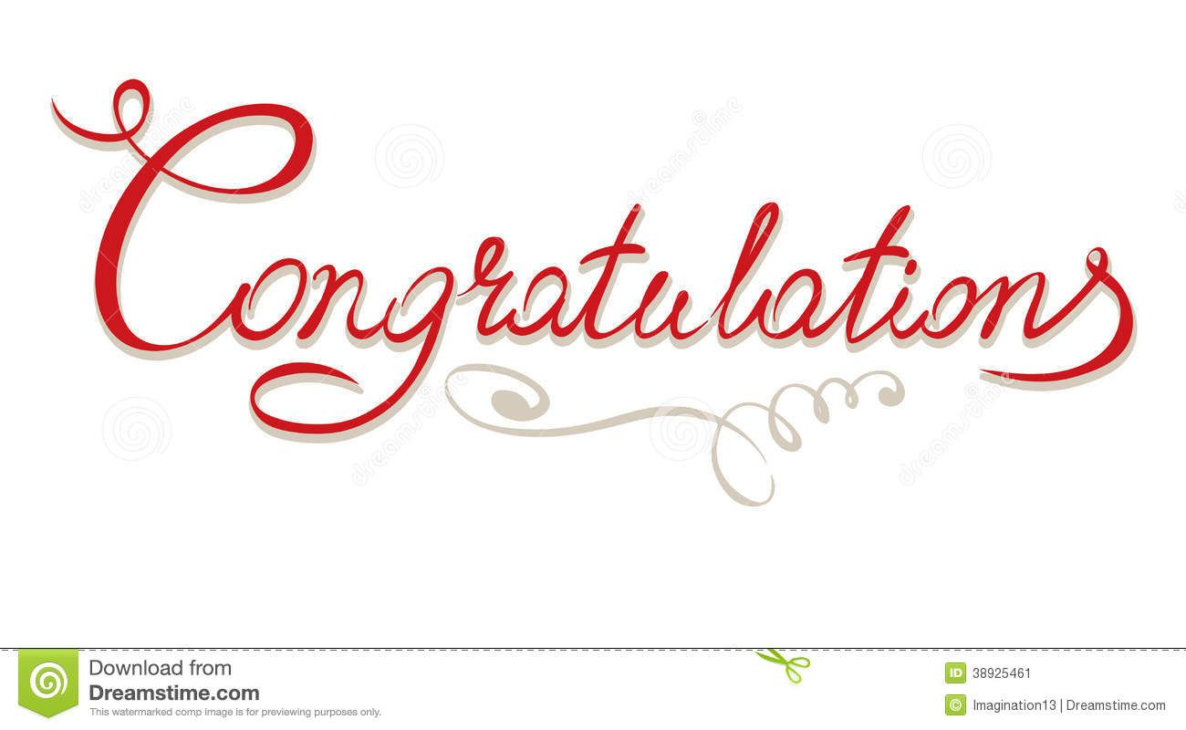 Congratulations sign clipart clip black and white library Title - Congratulations - Download From Over 35 Million High Quality ... clip black and white library