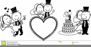 Congratulations wedding clipart picture black and white download Wedding Congratulations Clipart | Free Images at Clker.com - vector ... picture black and white download