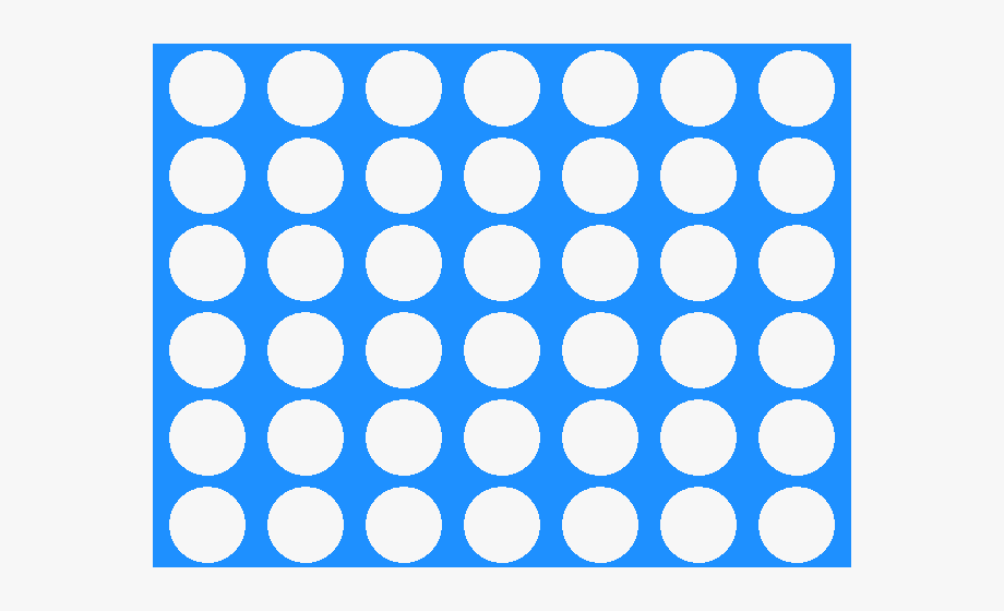 Connect four clipart free stock Play Dough - Connect 4 Empty Board, Cliparts & Cartoons - Jing.fm free stock