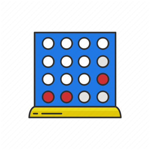 Connect four clipart clipart free stock \'Board games - Colored\' by Vectto clipart free stock