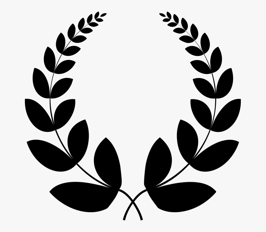 Conquest clipart jpg royalty free download Black Conquest Laurel - Laurel Wreath Png Black #1618557 - Free ... jpg royalty free download