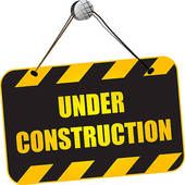 Free clipart under construction sign
