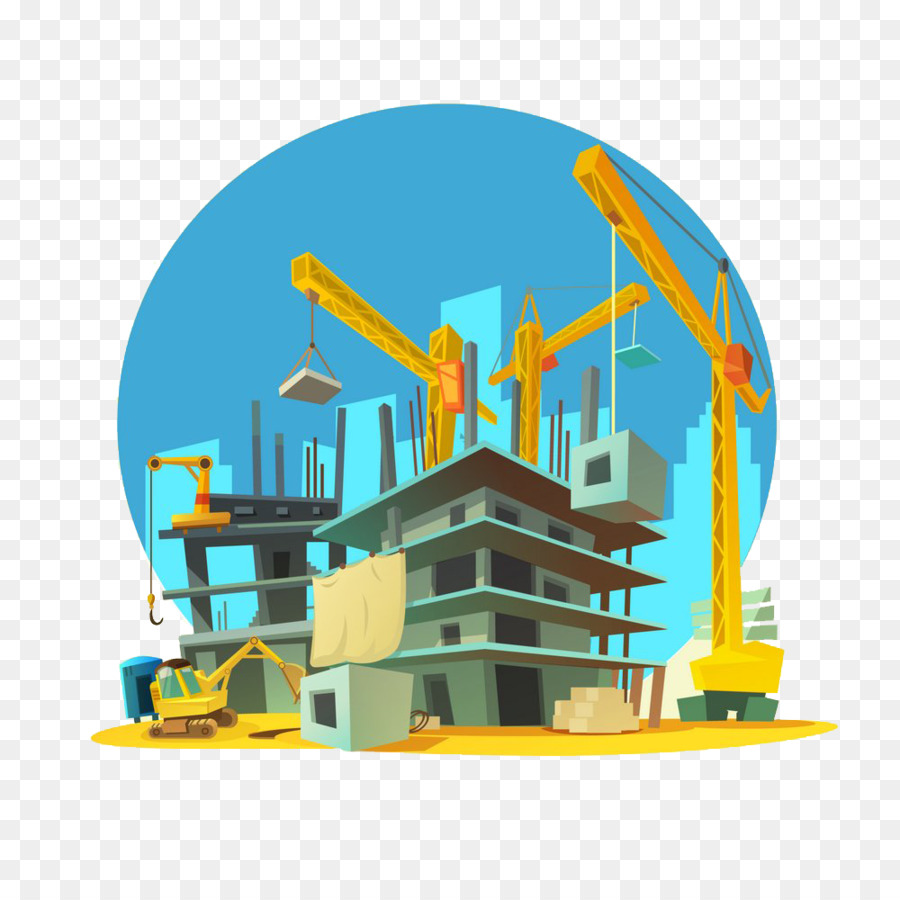 Construction background clipart vector freeuse stock Building Cartoon clipart - Construction, Building, Illustration ... vector freeuse stock