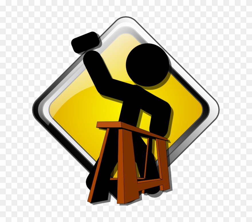 Construction coming soon clipart no background
