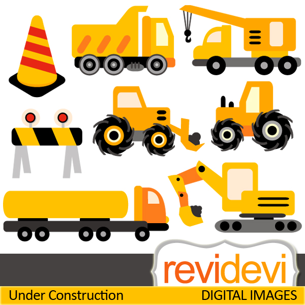 Construction cliparts. Truck clip art images