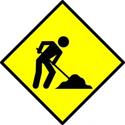 Construction cliparts. Highway clipart kid go