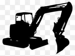 Construction equipment clipart black and white png png black and white stock Download Free png Construction Equipment Clipart Excavator ... png black and white stock