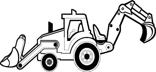 Construction equipment clipart black and white png royalty free download Construction Clipart Black And White | Free download best ... royalty free download