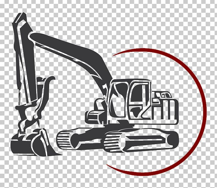 Construction equipment clipart black and white png banner transparent Excavator Architectural Engineering Backhoe Machine PNG ... banner transparent