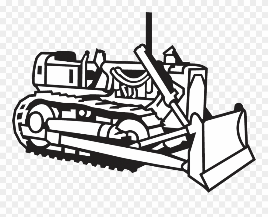 Construction equipment clipart black and white png clip art black and white stock Construction Clipart Machinery - Construction - Png Download ... clip art black and white stock