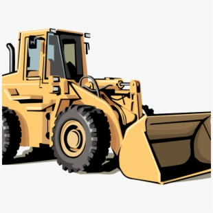 Construction equipment clipart black and white png clip black and white Heavy Equipment Clipart Black And White , Transparent ... clip black and white
