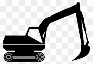 Construction equipment clipart black and white png graphic library library Construction - Equipment - Clipart - Exc #132628 - PNG ... graphic library library