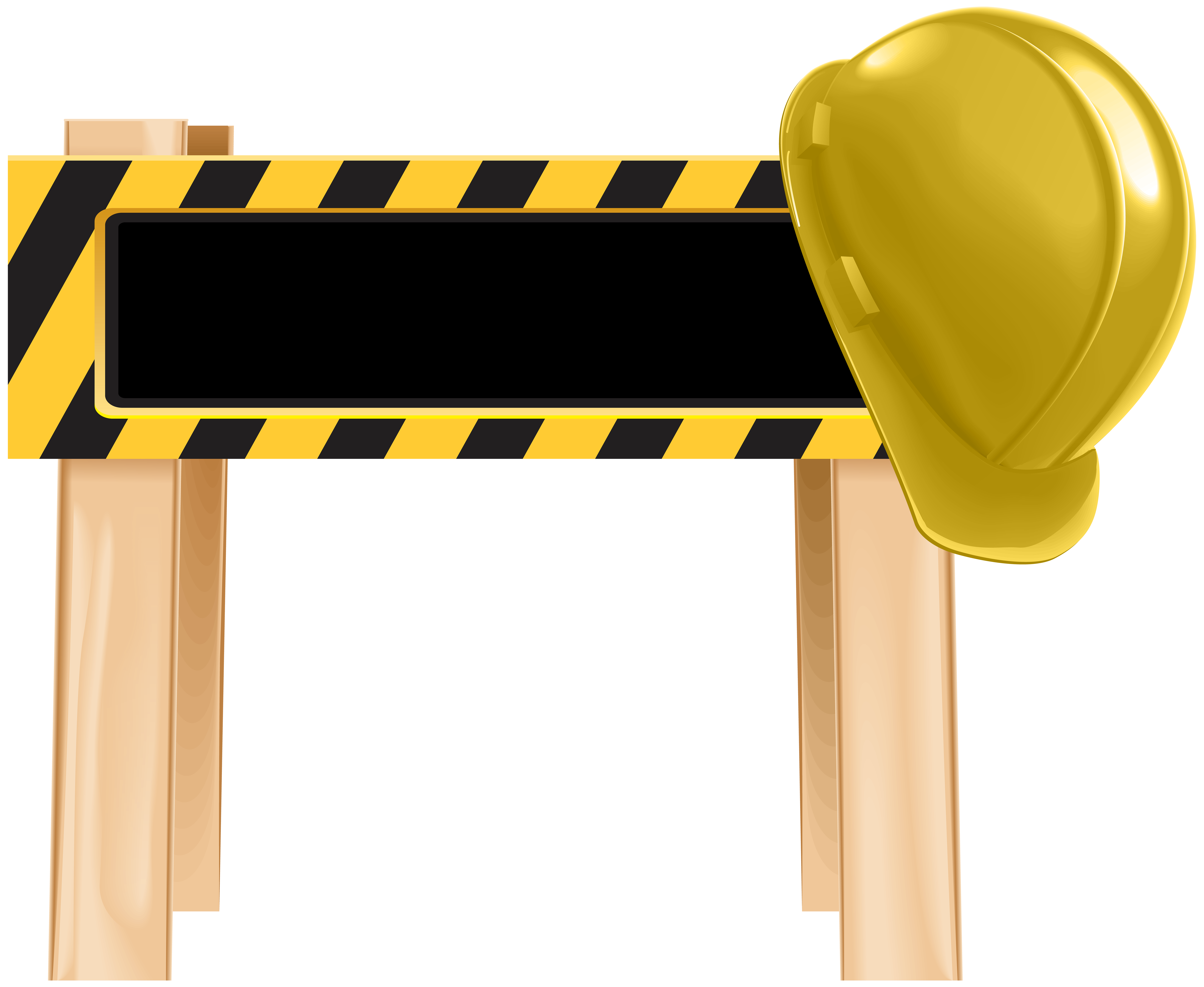 Construction pictures clipart vector library library Under Construction Barrier PNG Clip Art - Best WEB Clipart vector library library