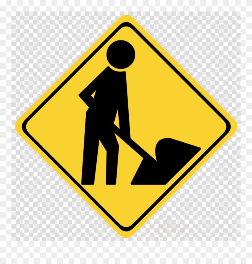 Construction signs clipart vector black and white library Construction Signs Black And White Clipart Traffic ... vector black and white library