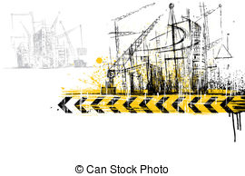 Construction site background clipart banner library stock Construction site Vector Clipart EPS Images. 14,075 Construction ... banner library stock