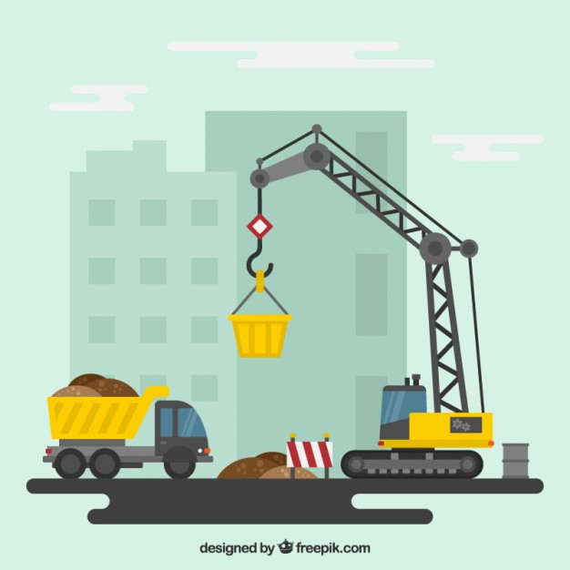 Construction site background clipart jpg library stock Construction Vectors, Photos and PSD files | Free Download jpg library stock