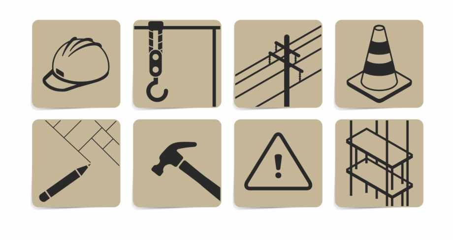Construction symbols clipart png black and white stock This Free Icons Png Design Of Construction Symbols - Construction ... png black and white stock
