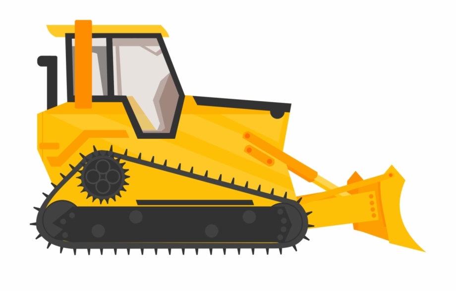 Construction truck clipart free banner transparent download Backhoe Clipart Bulldozer - Bulldozer Construction Truck Clipart ... banner transparent download
