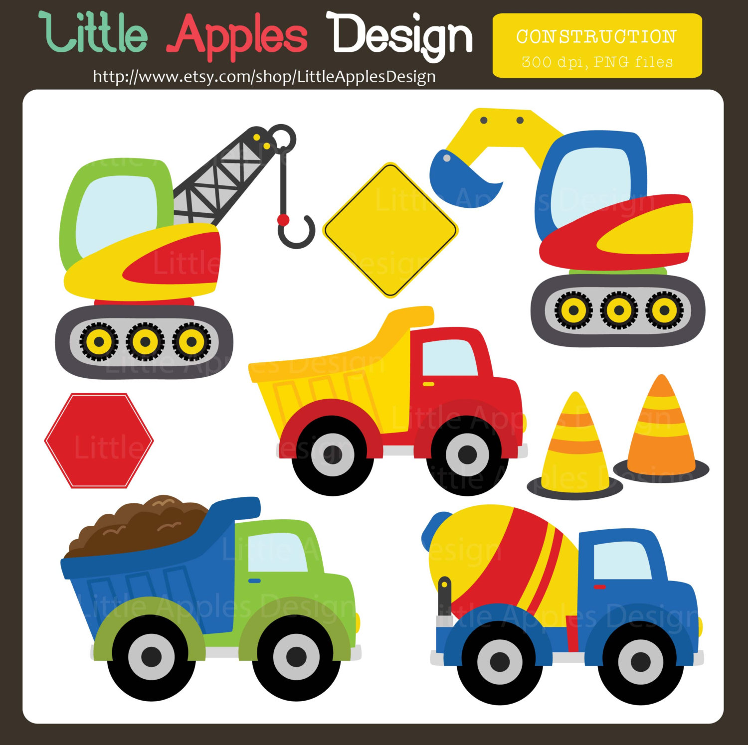Construction truck clipart free jpg free stock 90+ Trucks Clip Art | ClipartLook jpg free stock