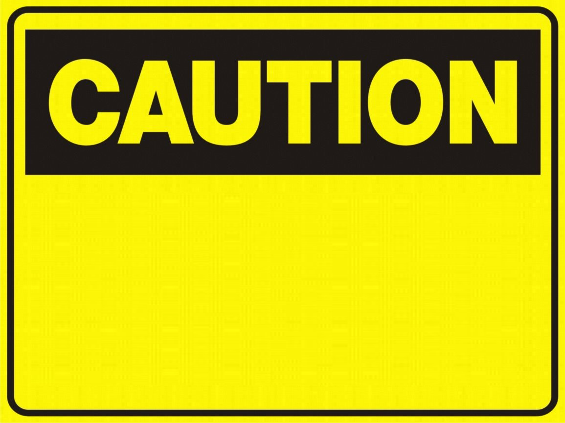 Construction warning signs clipart image free Blank Construction Sign | Free download best Blank Construction Sign ... image free