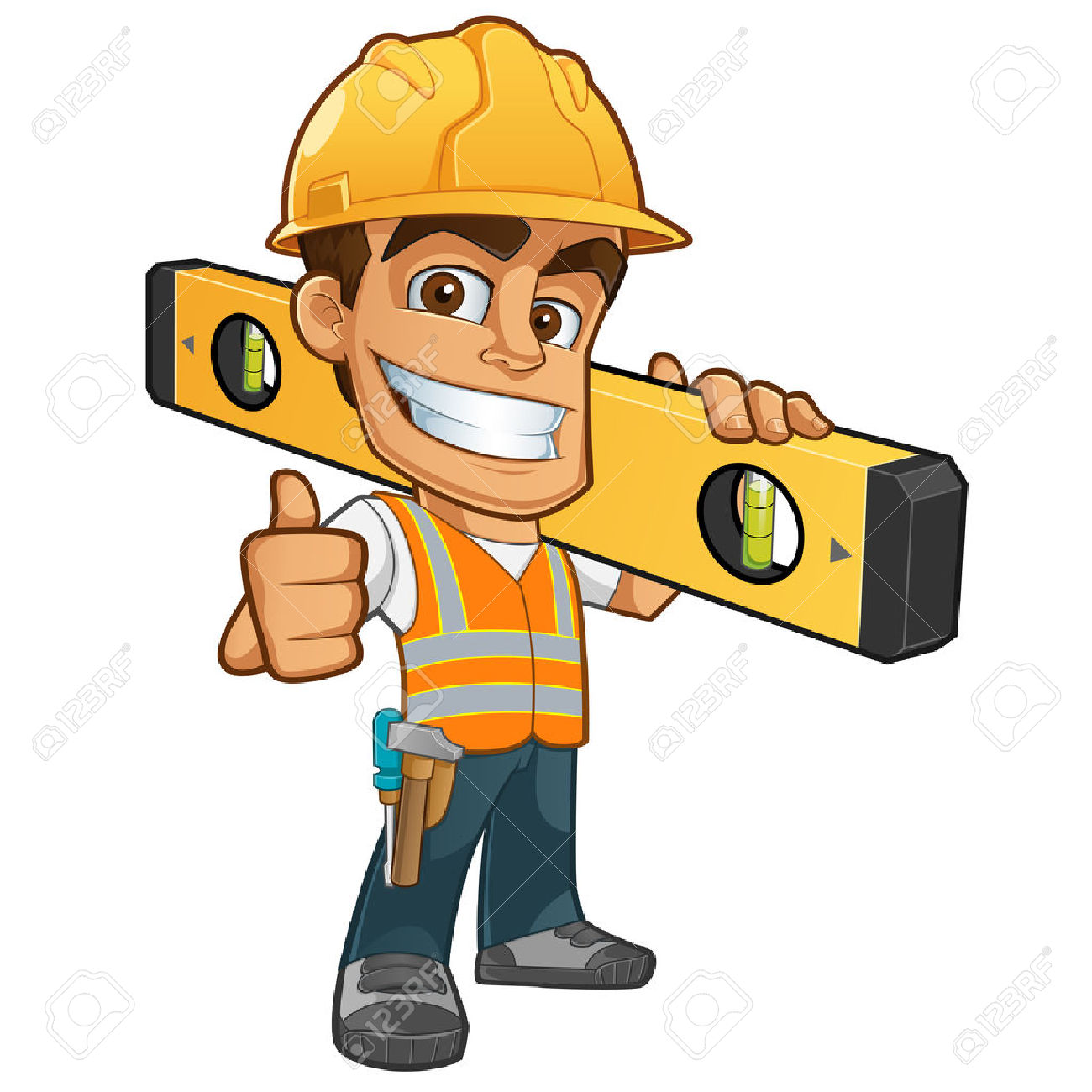 Construction worker clipart free graphic Construction Worker Cartoon Clipart Free   Free download best ... graphic