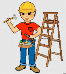 Construction worker clipart free svg transparent library Free Clipart Of Construction Worker   Free Images at Clker.com ... svg transparent library