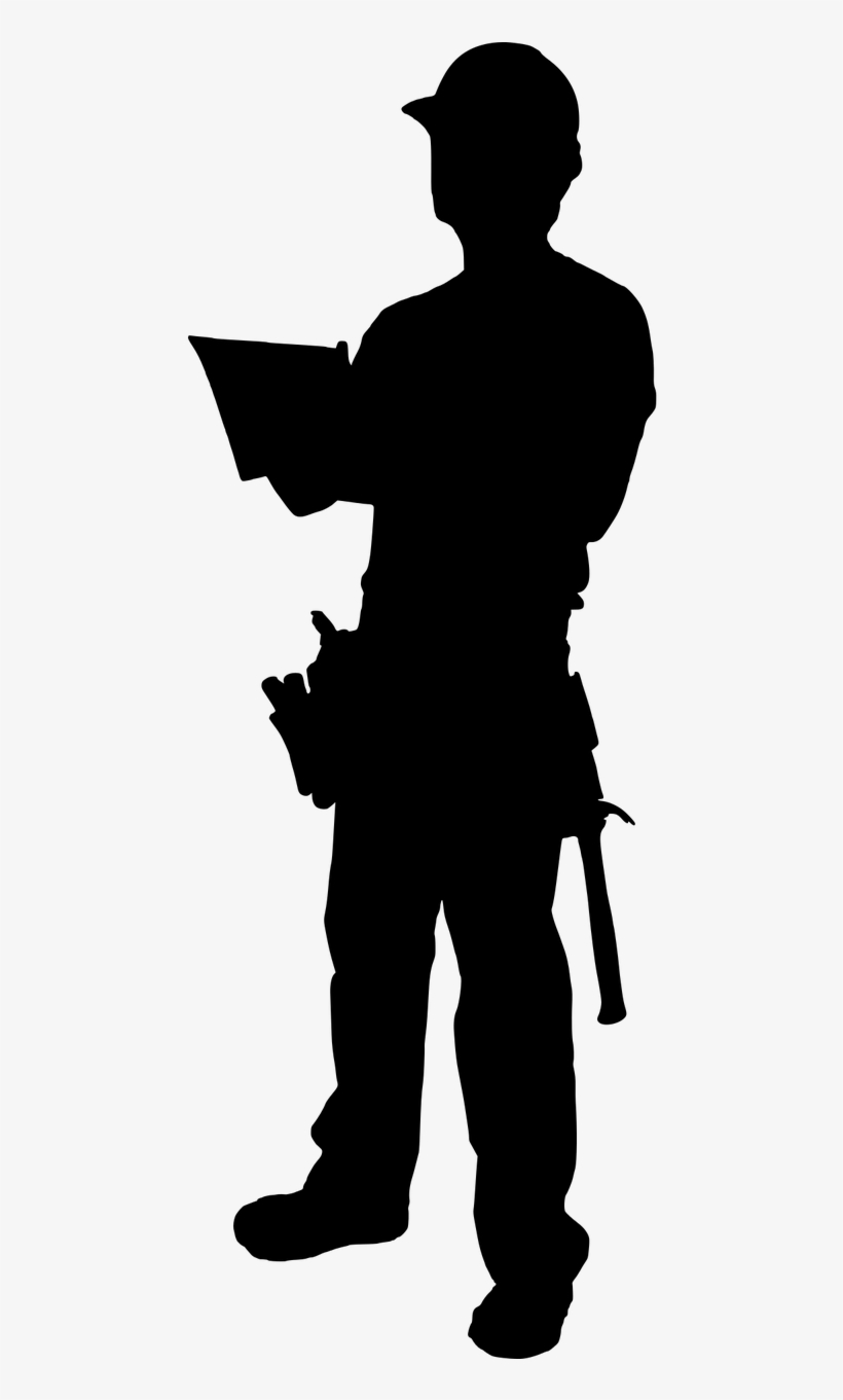 Construction worker silhouette clipart graphic black and white stock Construction Worker Silhouette Png , (+) Png Group ... graphic black and white stock