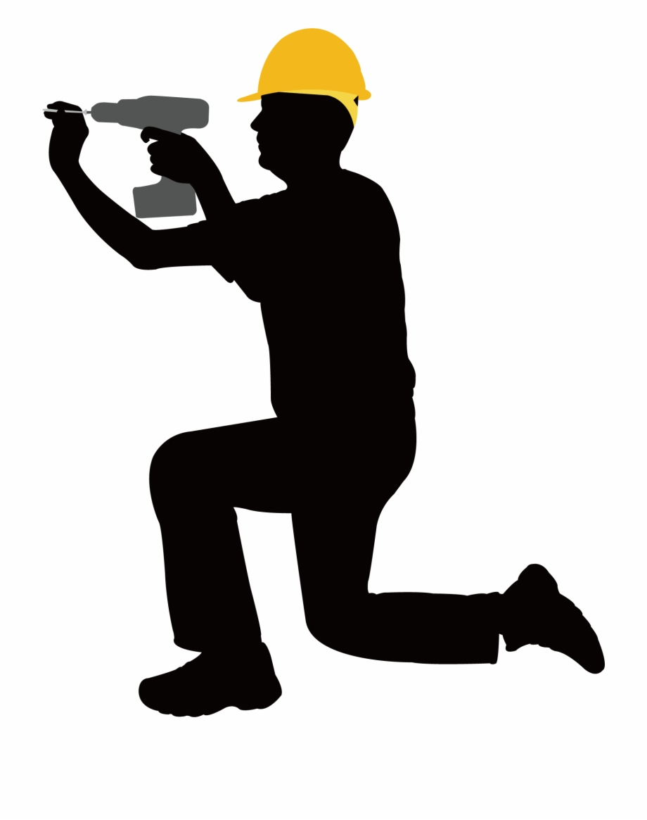 Construction worker silhouette clipart png freeuse library Silhouette Construction Worker Png Free PNG Images & Clipart ... png freeuse library