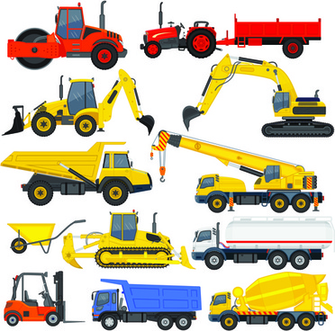 Constructionvehicle clipart image freeuse Construction vehicle clipart free vector download (4,780 ... image freeuse