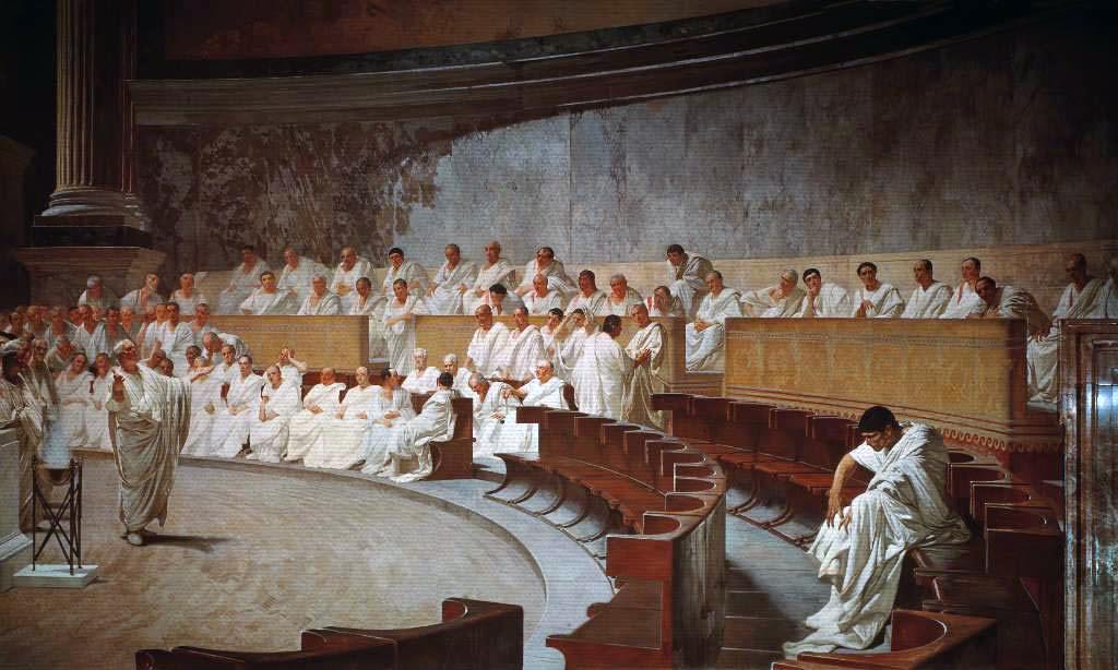 Consuls senators and assembly clipart jpg black and white Senate of the Roman Republic - Wikipedia jpg black and white