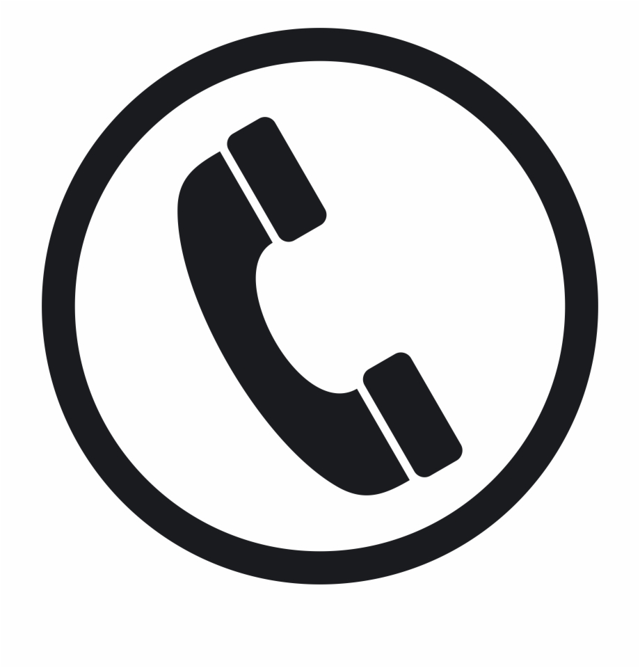 Contact icon clipart free download jpg stock Telephone Png White - Black And White Phone Icon Free PNG Images ... jpg stock