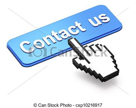 Contact us clip art. Button stock illustration images