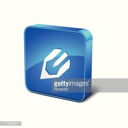 Content writing icon clipart