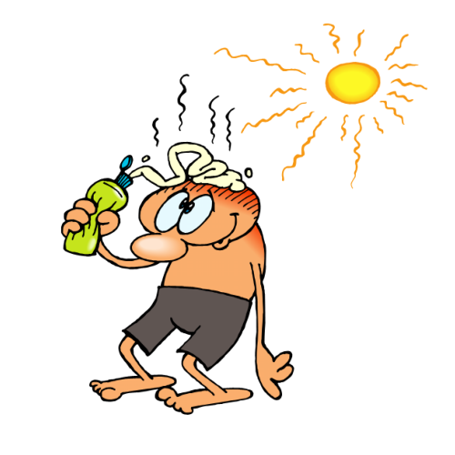 Actually without the sun. Free clipart heat wave