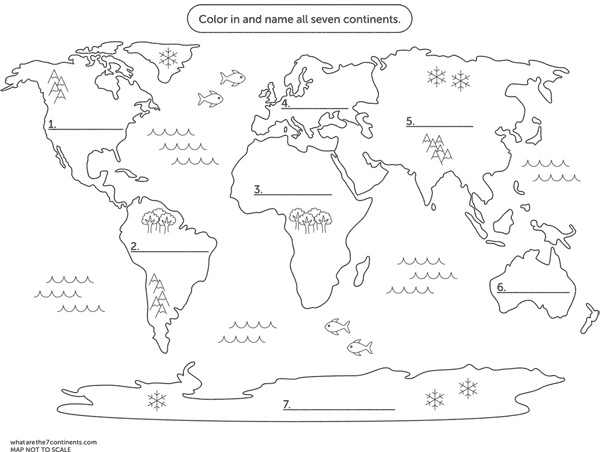 Continents map clipart to glue on globe clip art black and white Looking for a printable coloring map of the seven continents? Then ... clip art black and white