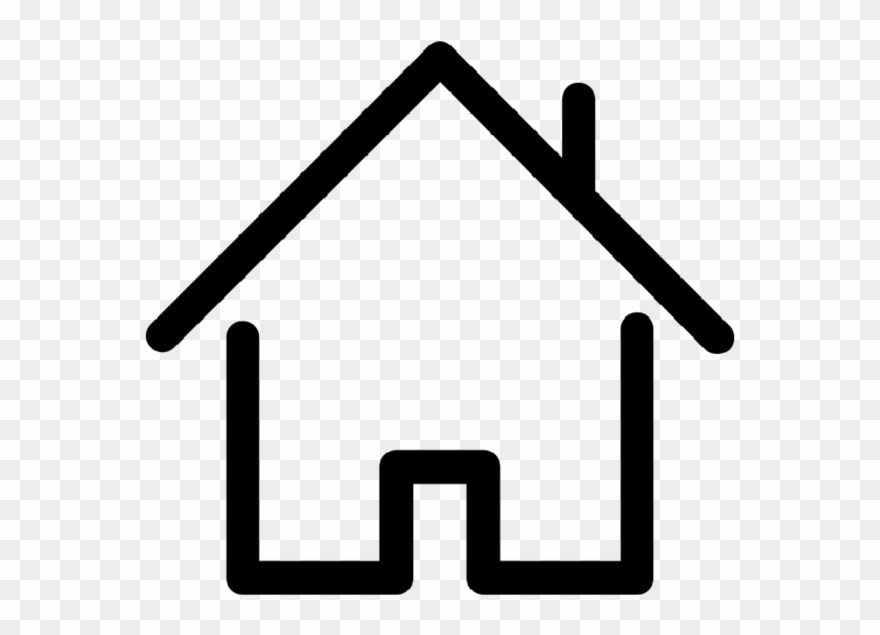Contornos clipart svg library House Cliparts Clipart Best - Contorno De Casa - Png Download ... svg library