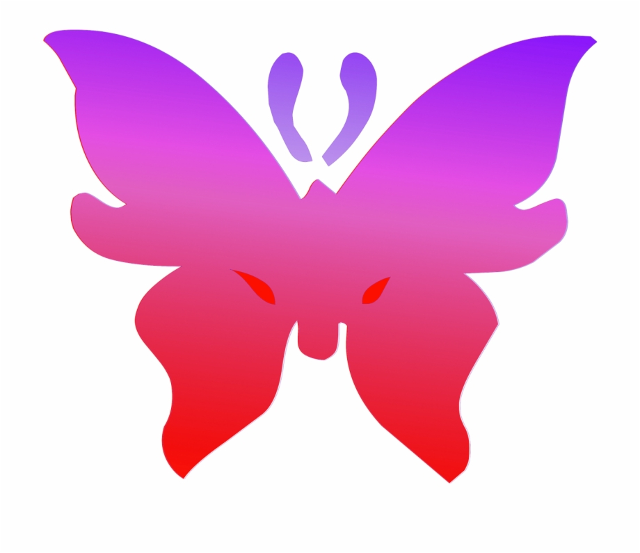 Contornos clipart picture royalty free Butterfly Red Purple Outline Png Image - Imagenes Contorno De ... picture royalty free