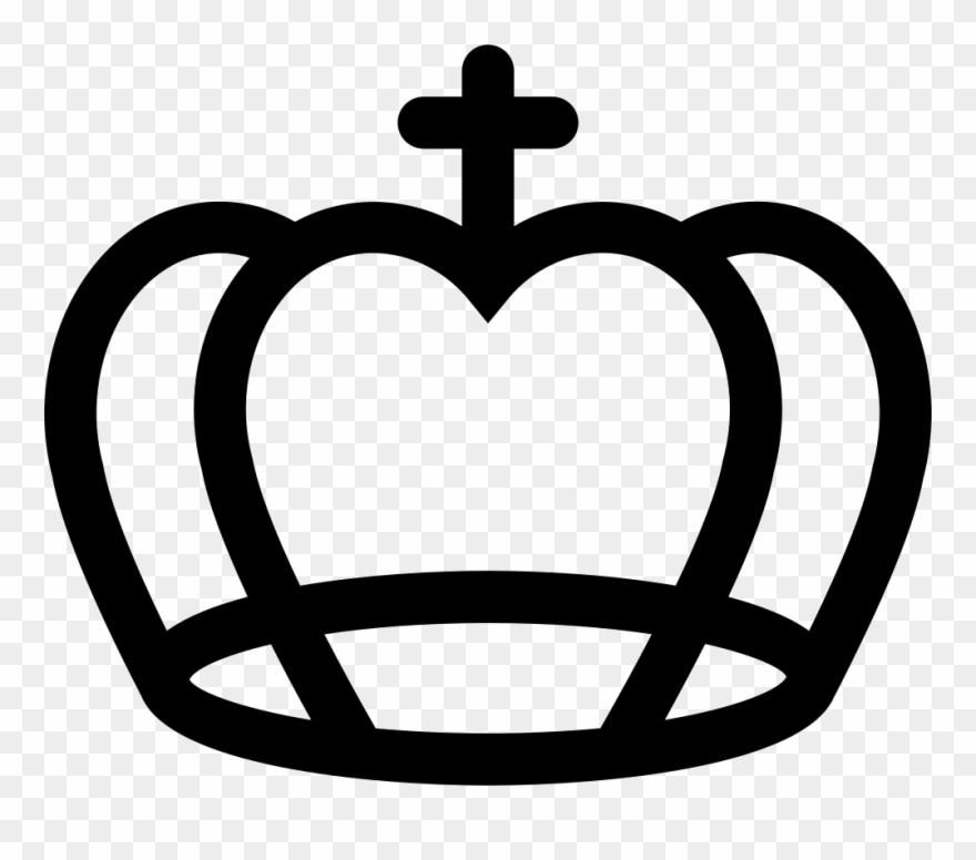 Contornos clipart clip download Royal Catholic Crown Comments - El Contorno De Una Corona Clipart ... clip download