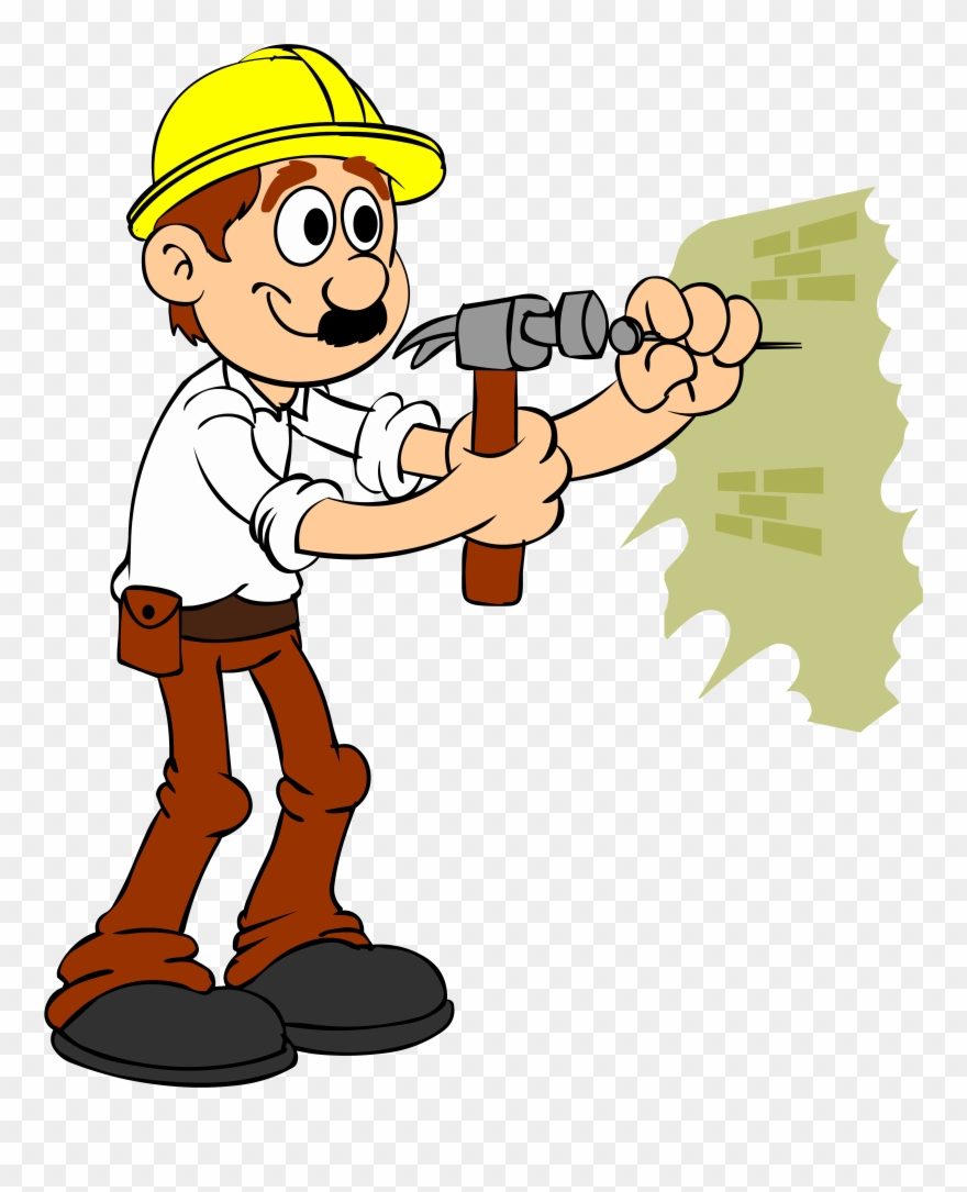 Contractor on phone clipart picture transparent Handyman Business, House Builder, Specialty Contractor ... picture transparent