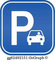 Parked cars clipart picture transparent library Parking Clip Art - Royalty Free - GoGraph picture transparent library