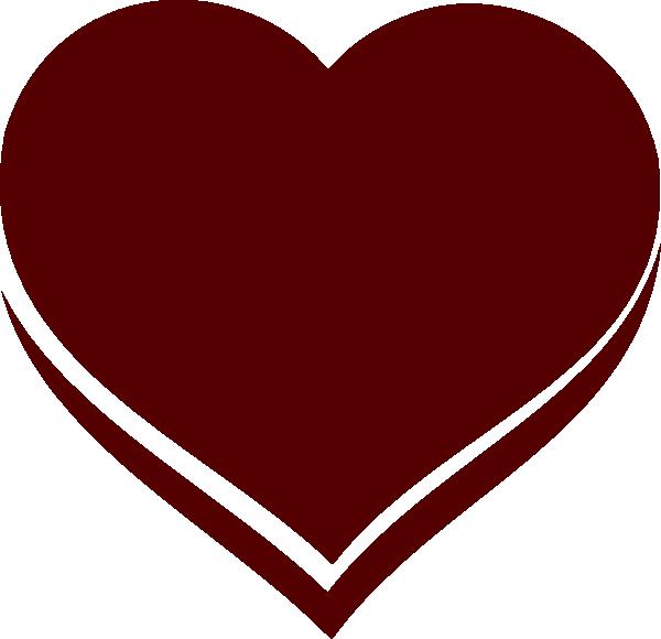 Public domain heart clipart jpg royalty free download Heart Clip Art at Clker.com - vector clip art online, royalty free ... jpg royalty free download